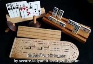 Wood Games for sell